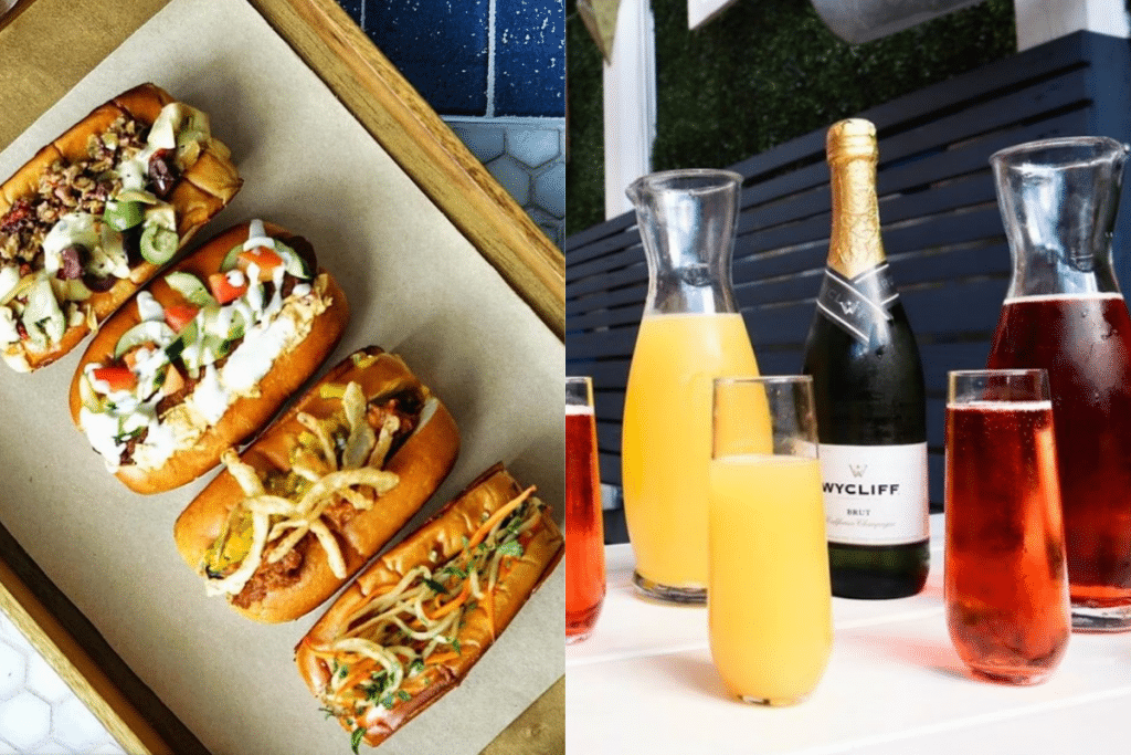 Enjoy Bottomless Mimosa And Signature Sausages At This Iconic DC Restaurant