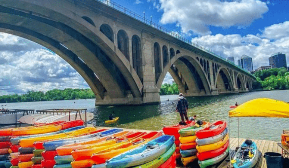 6 Adventurous Places To Try Paddle Sports This Summer In The DMV