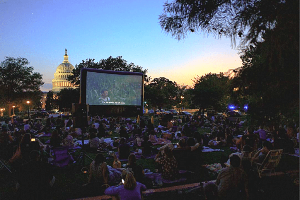 This Week Watch Movies On The Library of Congress Lawn