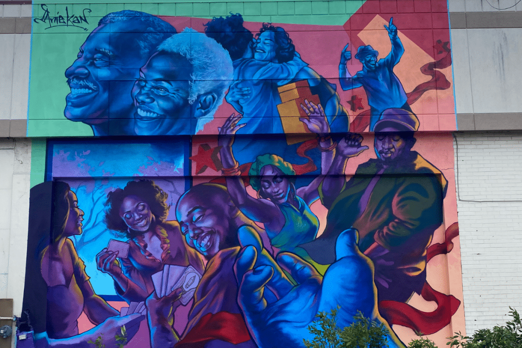 This DC Mural Represents The Importance Of Getting Vaccinated