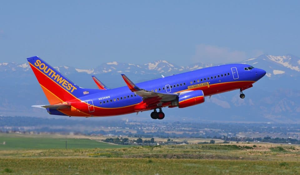 Southwest Airlines Adds 5 New Routes Between Colorado Springs And Other Major Cities
