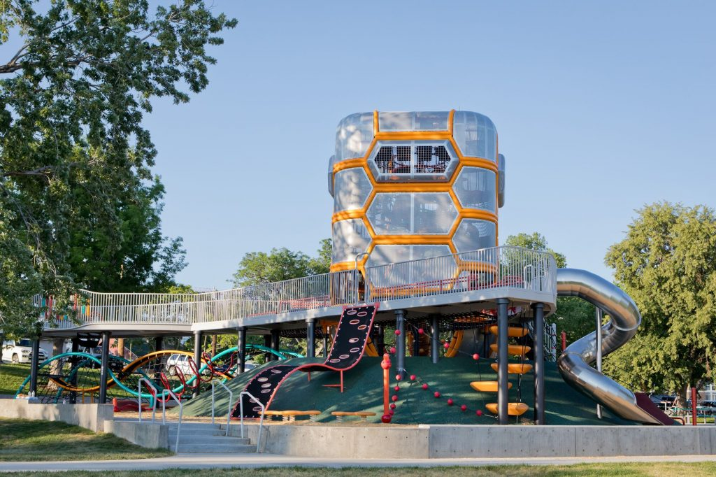 This Brand New Park In West Denver Is A Musically-Themed Wonderland