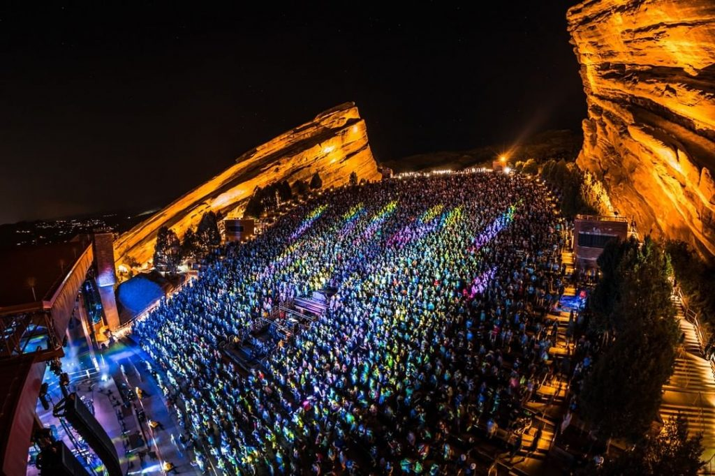 Red Rocks Amphitheater Is Offering A Dose Of The Johnson & Johnson Vaccine At Select Concerts