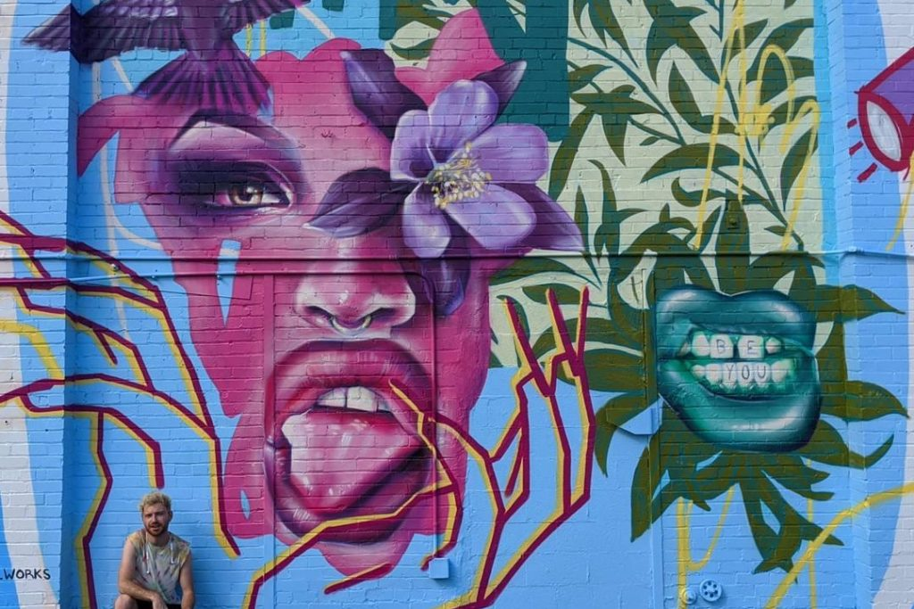 This New Mural In The RiNo District Celebrates RuPaul Winner & Denver Native, Yvie Oddly, For Pride Month
