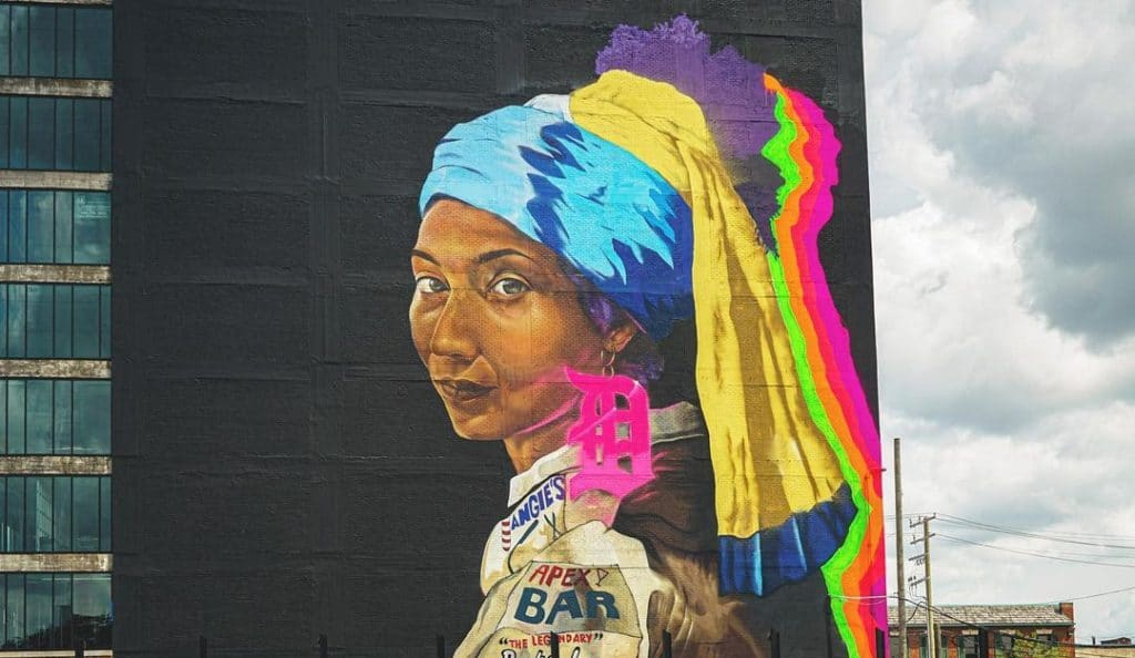 10 Stunning Murals In Detroit Created By Black Artists