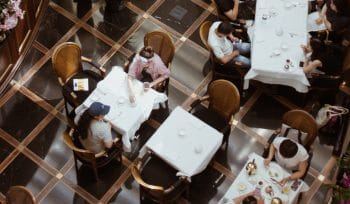 Indoor Dining At 50% Capacity Begins Friday