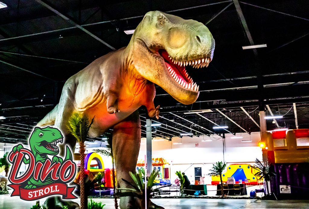 Dinosaurs Will Tramp Through Canterbury Village This September