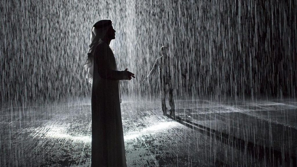 Try This Immersive Rain Experience in Sharjah