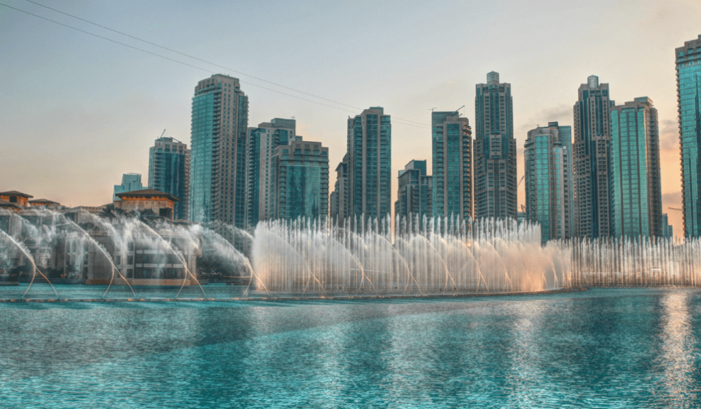 Dubai's Second Dancing Fountain is Under Construction