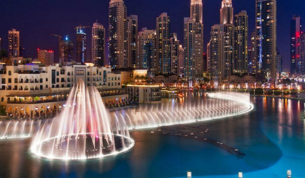 The Beautiful Singing Fountains of Downtown Dubai