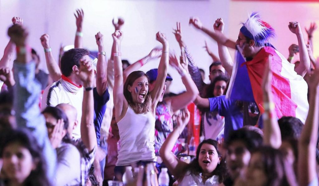 Dubai Celebrates France's Victory in the World Cup