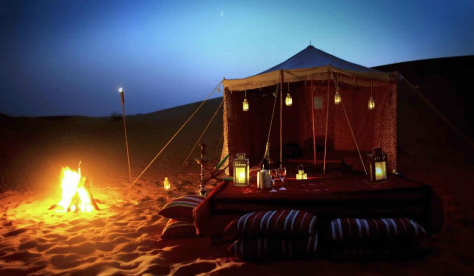 How To Camp in the Dubai Desert For Amateurs
