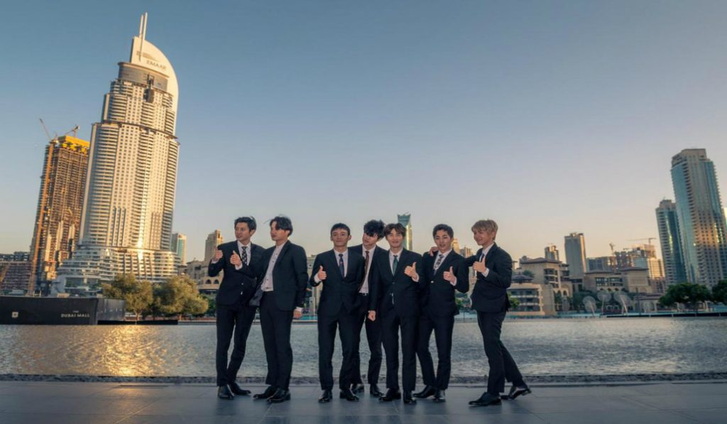 K-Pop Group EXO Will Have Their Song Played at the Dubai Fountain The Whole Month of September