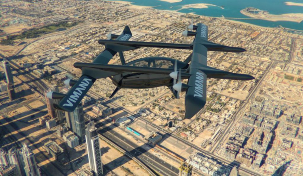 The Future is Coming With These Flying Taxis