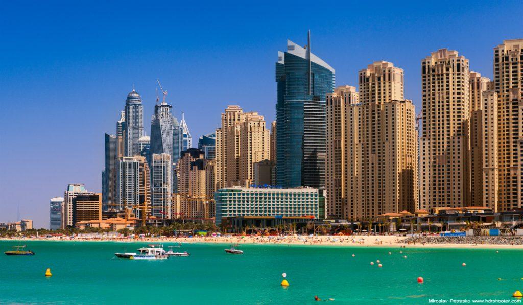 A Representation of Dubai Summer Through Gifs