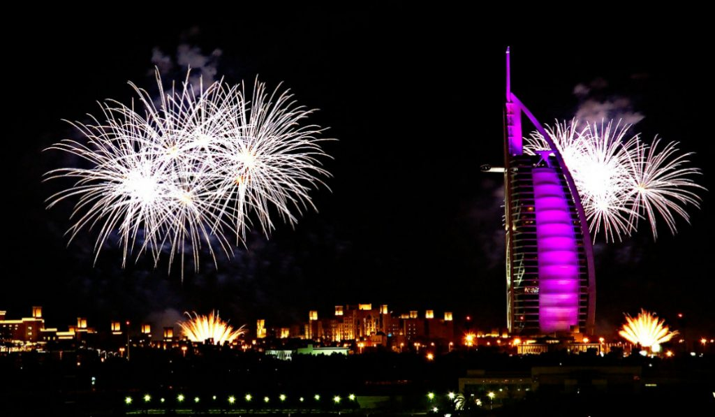 The Locations of This Year's Eid Al Adha Fireworks