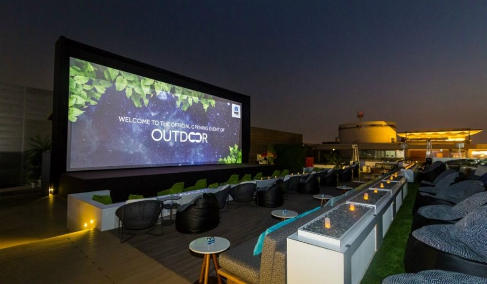 A New VOX Rooftop Cinema That's Licensced Has Opened in Dubai