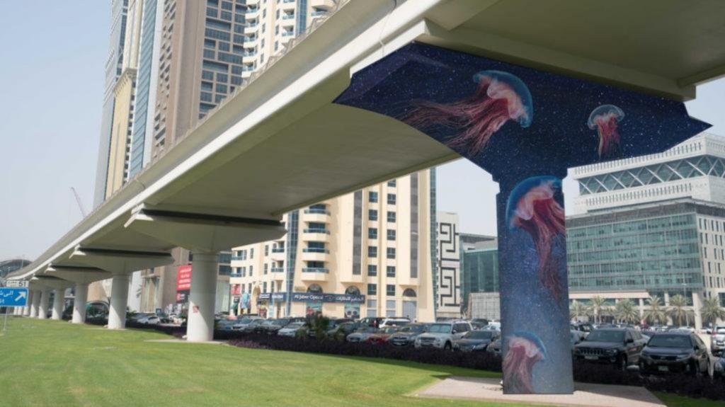 Dubai Metro Will Soon Feature Street Art