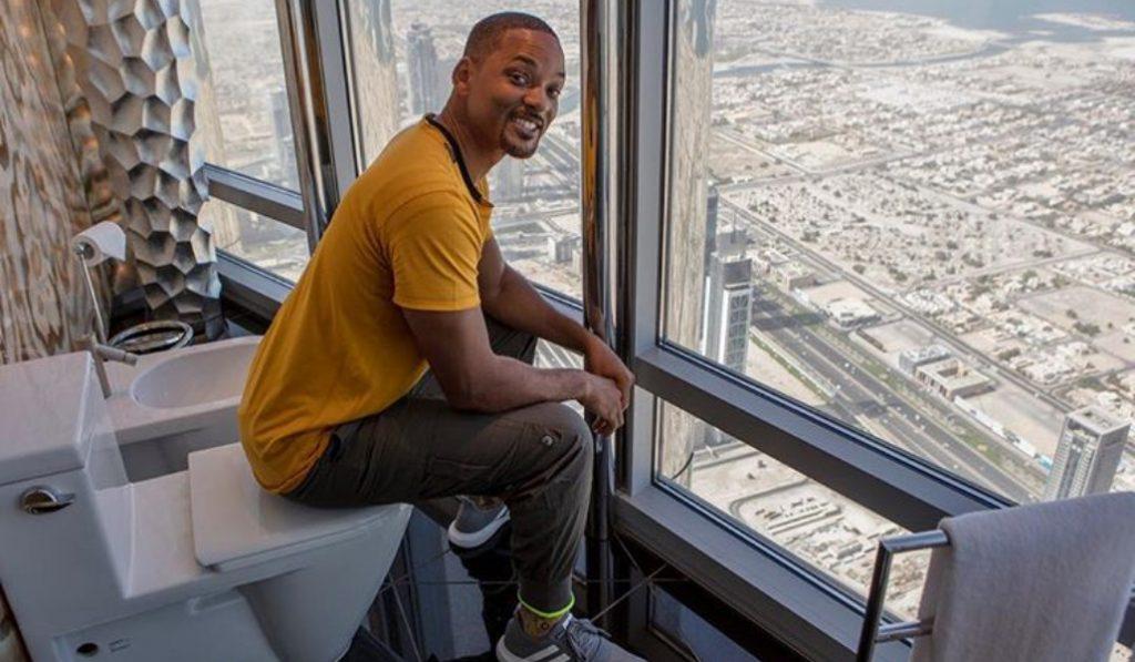 The Fresh Prince is in Dubai
