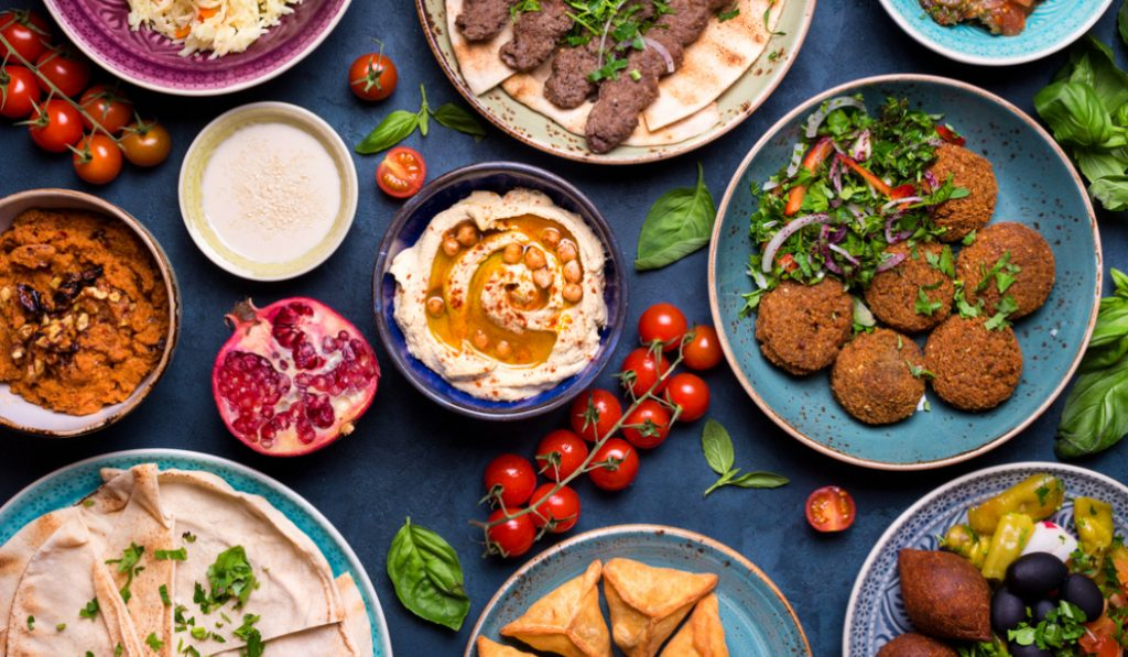 Five Middle Eastern Food Favourites