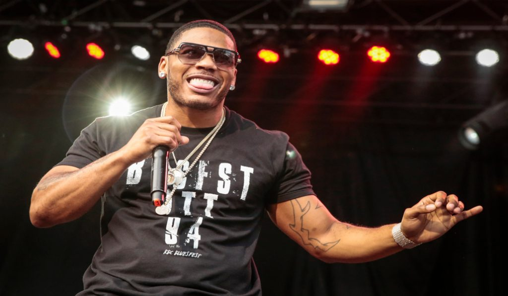 Nelly will be performing at ladies night tonight