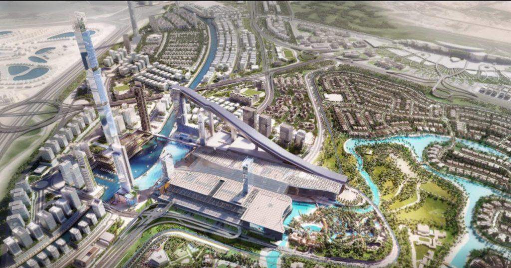 New development along riviera between Dubai & Abu Dhabi in progress