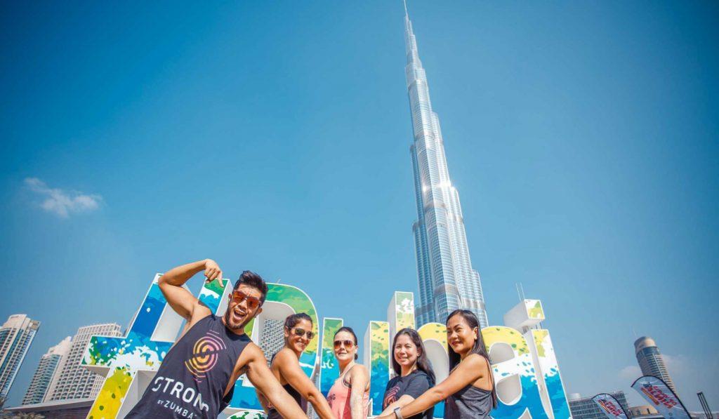 Celebrate the End of Dubai Fitness Challenge