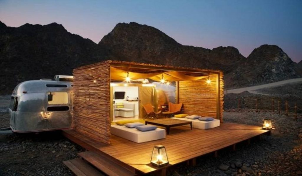Yes, glamping is finally an option in Dubai