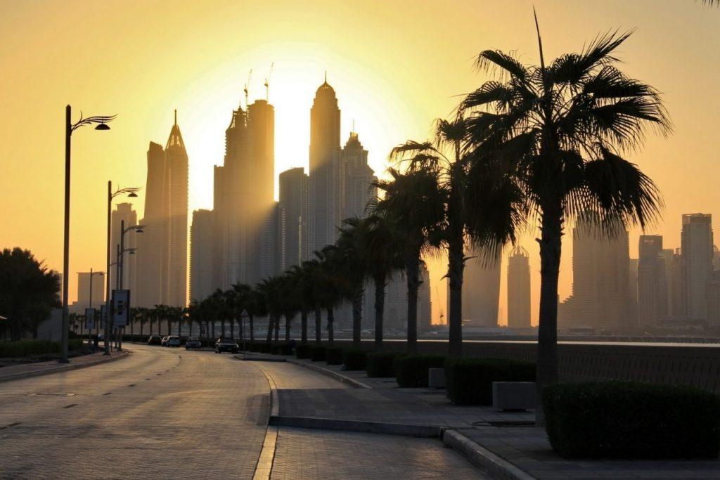 Dry Night Coming Up in Dubai