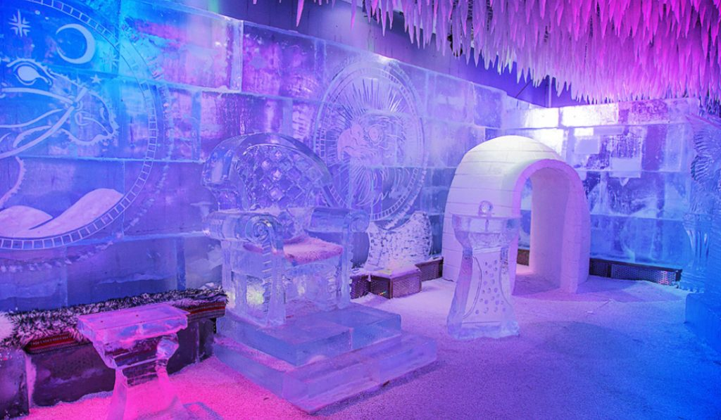 Chill out lounge is the winter escape you're looking for