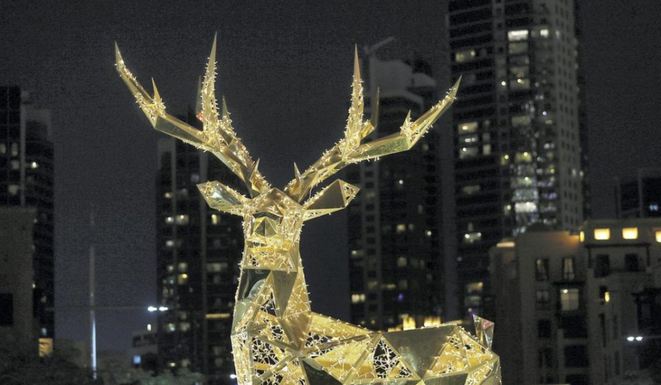 Get into the Christmas spirit with the festive decor around the city