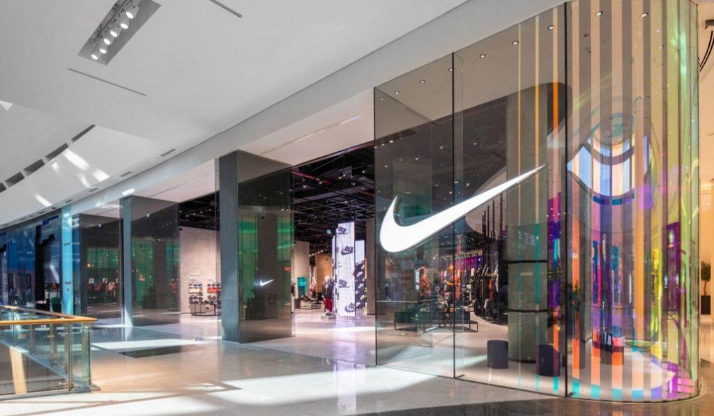 Nike has opened a massive store in Dubai Mall