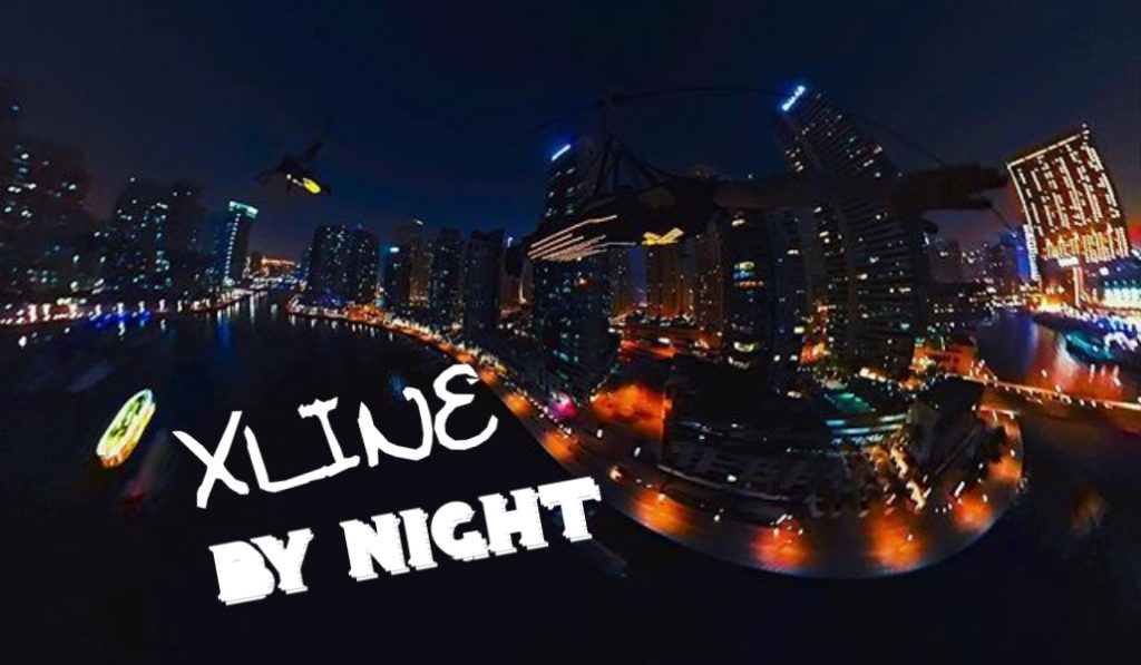 XLine in Dubai Marina have a special night time package!