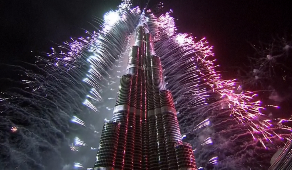 Kick off the New Year with fireworks in Dubai