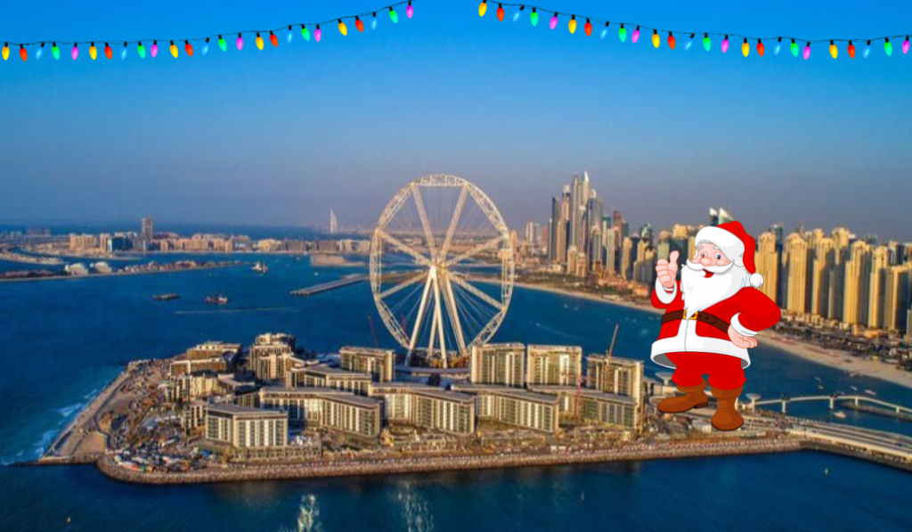 Santa is available for meet n' greets at Bluewaters