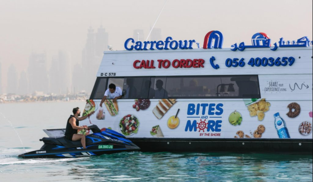 Now open: floating grocery stores