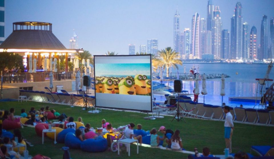 Free outdoor cinema at Downtown Eats