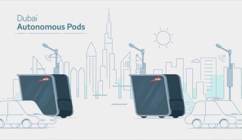 Autonomous pods are coming to Dubai