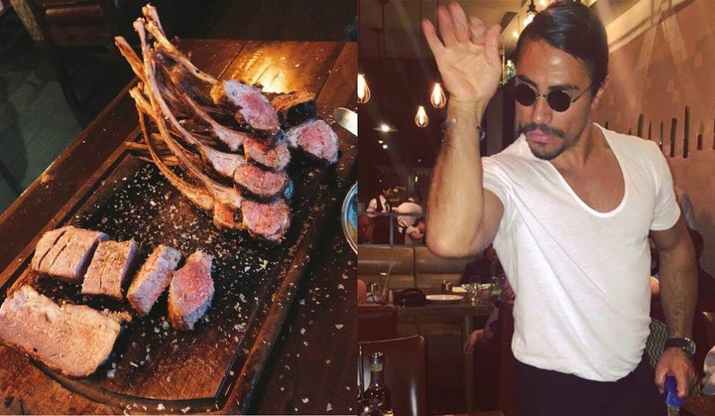 Spotted: Celebs at Nusr-et Steakhouse with Saltbae