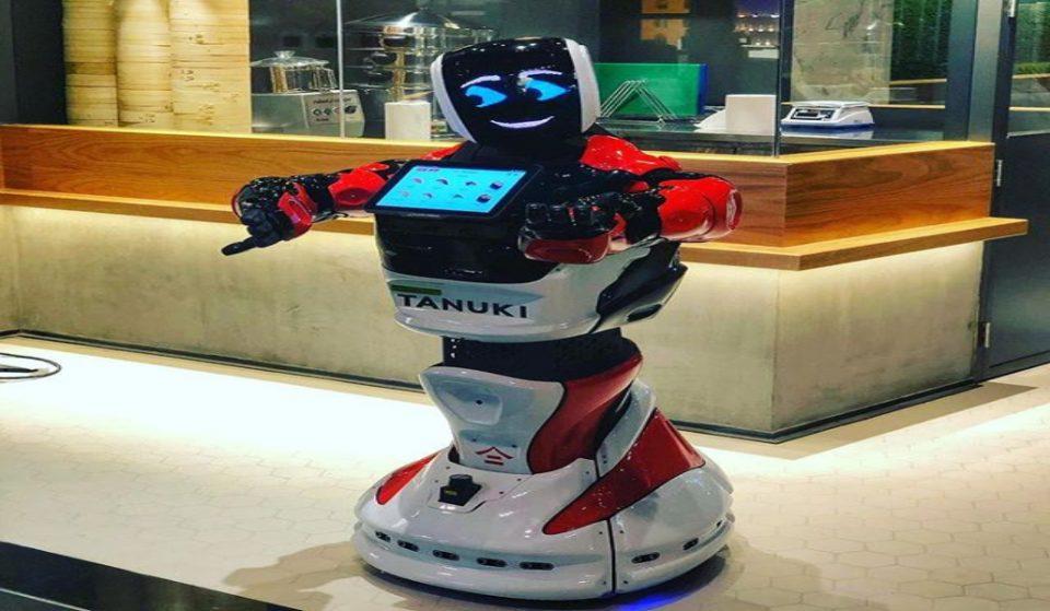 Asian restaurant; Tanuki, in the Dubai Mall has a new AI employee