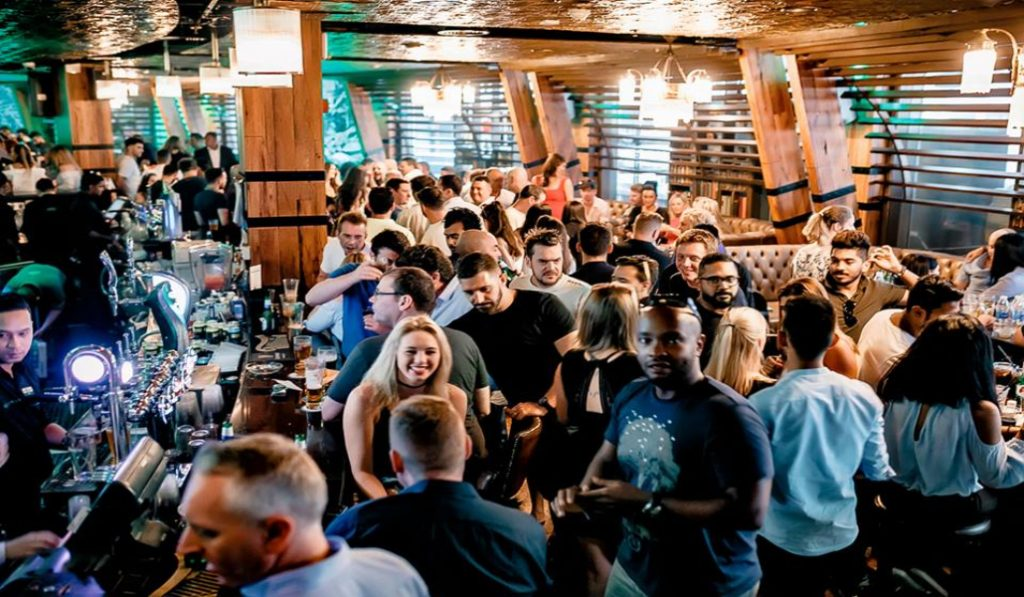 Start your weekend at McGettigan's massive party