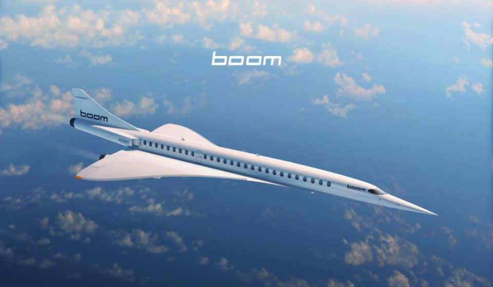 The Boom Supersonic XB-1 is in the development phase