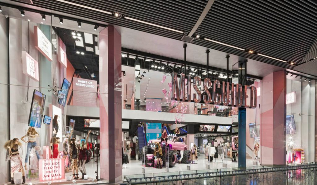 Missguided opening in Dubai Mall