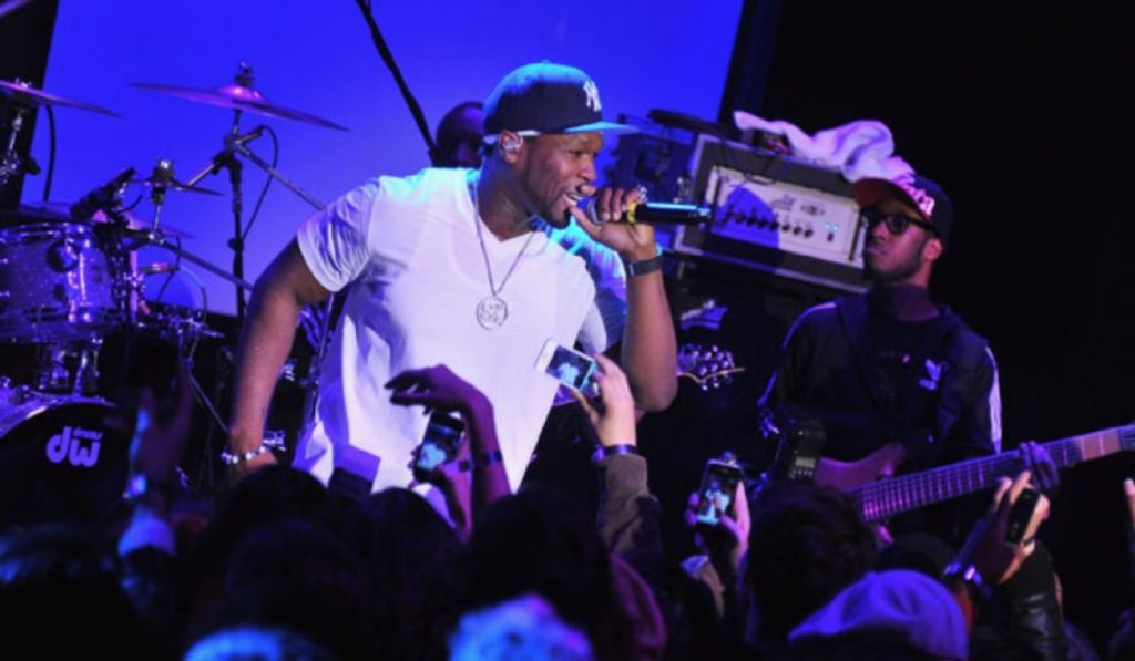 50 Cent is performing in Dubai this Friday