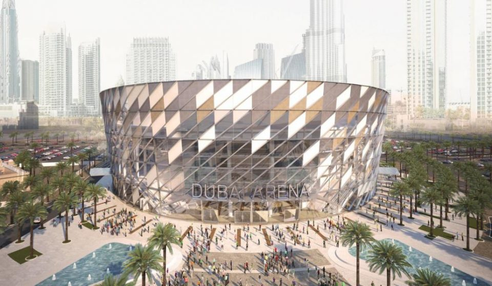 Dubai Arena is close to completion