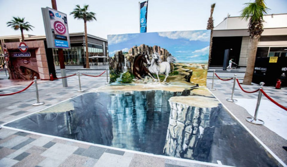 Open air arts canvas in Jumeirah