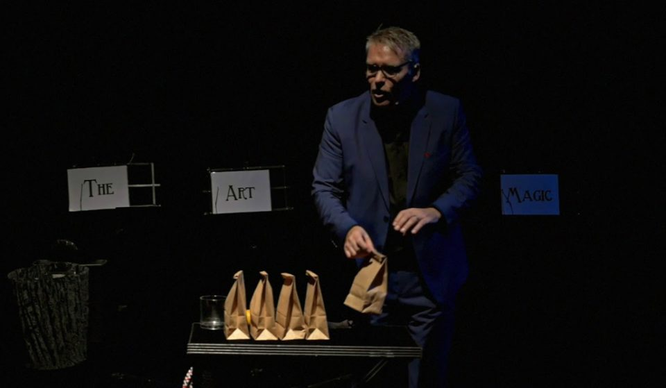 Dutch illusionist will be doing a show in Dubai tomorrow