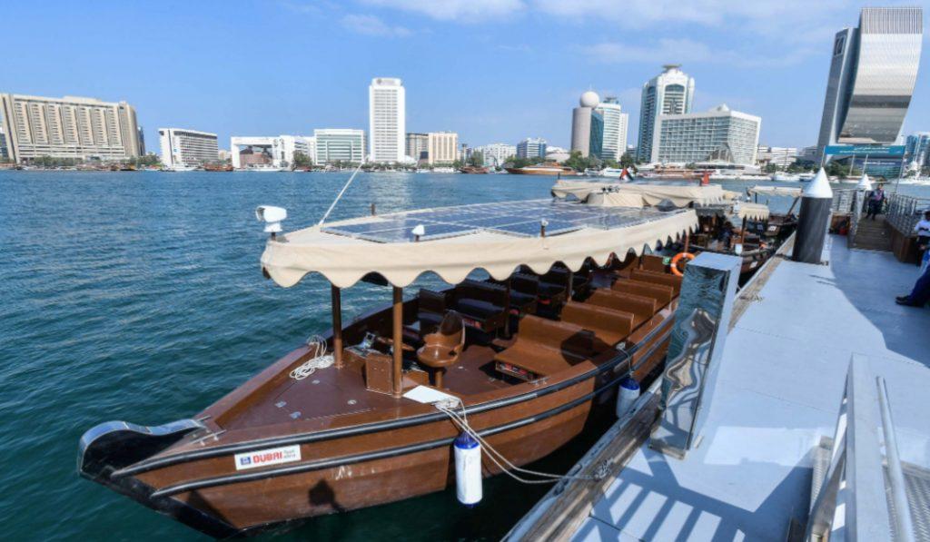 Dubai's traditional abras have gotten a new upgrade…