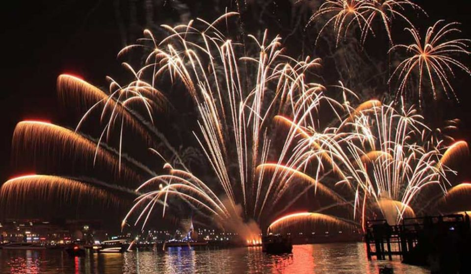 A look through some of the best NYE firework shots