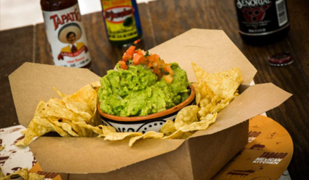 Beloved mexican restaurant Taqado have just launched their vegan menu